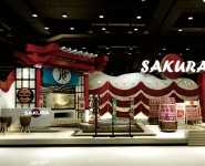 "Booth // บูทขายอาหารปลา ""Sakura"""